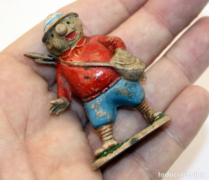Figuras de Goma y PVC: FIGURA EUSTAQUIO MORCILLON - TEIXIDO - TBO - EUSTAQUIO MORCILLON Y BABALI - 1958 - EN GOMA - Foto 9 - 167181116