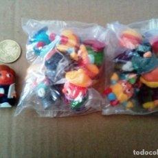 Figuras Kinder: LOTE 2 SERIES DE 6 FIGURAS + 1 MUÑECO CON LA BANDERA DE FRANCIA ( VER FOTO ) DIFICIL DE ENCONTRAR. Lote 167242080