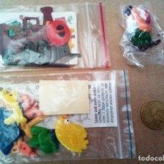 Figuras Kinder: LOTE 2 PUZZLES Y 1 ENANO ( VER FOTO ) DIFICIL DE ENCONTRAR. Lote 167245752