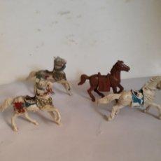 Figuras de Goma y PVC: FIGURA CABALLO SARRACENO MORO JECSAN. Lote 167337760