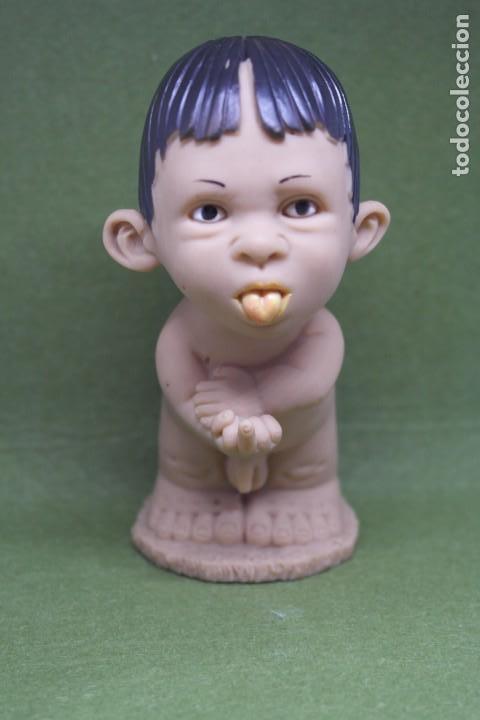 Figuras de Goma y PVC: ANTIGUO MUÑECO PITI GESTOS BABY DE JOIMY. ( Made in Spain) Años 80 - Foto 2 - 167471788