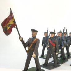 Figuras de Goma y PVC: SOLDADOS DESFILE MILITAR EJÉRCITO AVIACIÓN -JECSAM, REAMSA, GOMARSA. Lote 167509233