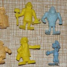 Figuras de Goma y PVC: FIGURAS ASTERIX ESTILO DUNKIN. Lote 167574860