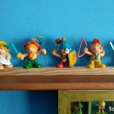 Figuras de Goma y PVC: NO COMICS SPAIN,PITUFOS ROMANOS,COLECCION COMPLETA ,PITUFOS ROMER. Lote 167595076