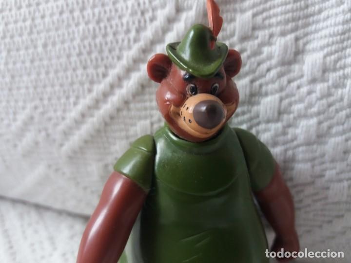 Figuras de Goma y PVC: Figura Little John. Robin Hood. Disney. Articulada. Famosa. - Foto 3 - 167697320