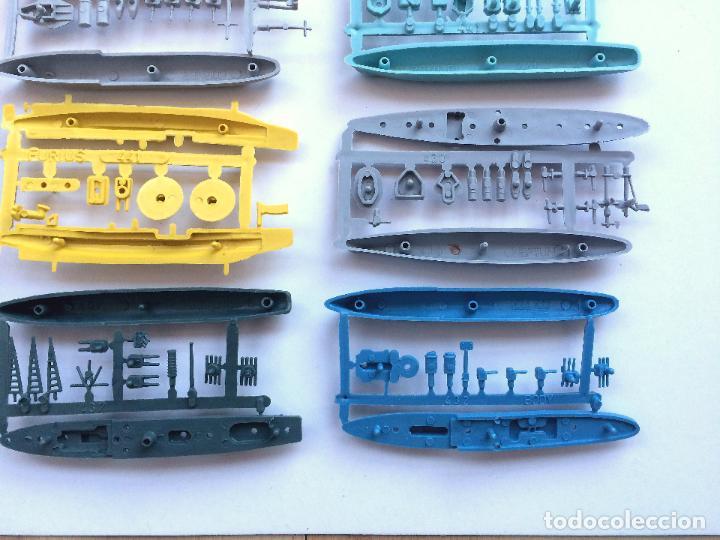 Figuras de Goma y PVC: MONTAPLEX LOTE 12 COLADAS BARCOS BUQUES DE GUERRA - COLECCIÓN COMPLETA - Foto 5 - 182837292