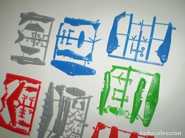 Figuras de Goma y PVC: BIMBO DUNKIN PREMIUM - LOTE DE 7 AVIONES - SIMILARES MONTAPLEX - Foto 3 - 167710212
