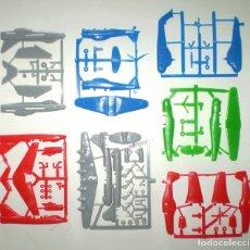 Figuras de Goma y PVC: BIMBO DUNKIN PREMIUM - LOTE DE 7 AVIONES - SIMILARES MONTAPLEX. Lote 167710212