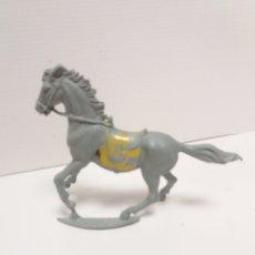 Figuras de Goma y PVC: CABALLO CON PEANA PECH LAFREDO REAMSA. Lote 167803140