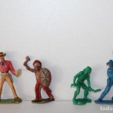 Figuras de Goma y PVC: FIGURAS DE PLASTICO ANTIGUAS - REAMSA - COMANSI - PECH ?. Lote 167861468