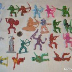Figuras de Goma y PVC: OESTE AMERICANO - INDIOS, VAQUEROS Y OTROS - COMANSI, OLIVER, PUIG, PECH, JECSAN Y OTROS ¡MIRA!. Lote 167862748
