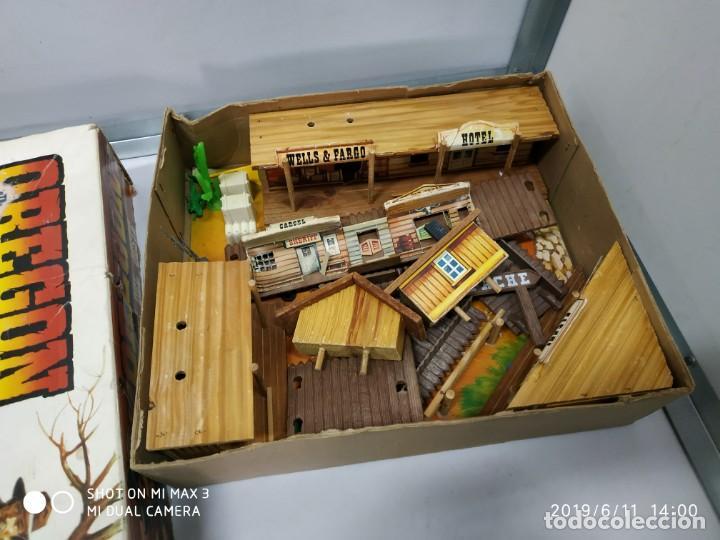 Figuras de Goma y PVC: COMANSI OREGON rutas del oeste en caja vintage fuerte India's vaqueros - Foto 3 - 167887632