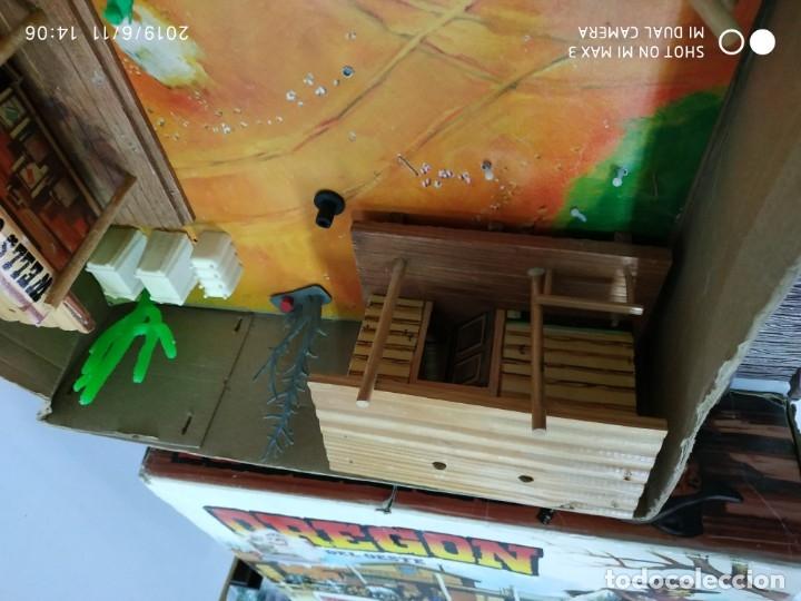 Figuras de Goma y PVC: COMANSI OREGON rutas del oeste en caja vintage fuerte India's vaqueros - Foto 12 - 167887632