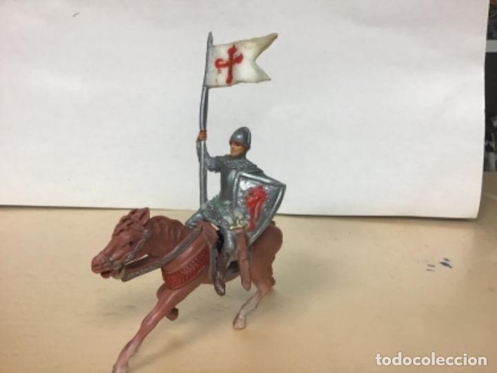 Figuras de Goma y PVC: FIGURA CRUZADO PECH HERMANOS MEDIEVAL HERMANOS PECH ARABES SARRACENOS - Foto 3 - 168008104
