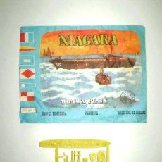 Figuras de Goma y PVC: SOBRE MONTAPLEX Nº 439 NIAGARA - VACÍO + COLADA DEL BARCO NIAGARA. Lote 238857570