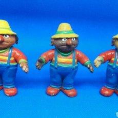 Figuras de Goma y PVC: FIGURAS PVC BARRIO SÉSAMO DON PIMPON VERSIONES CÓMIC SPAIN. Lote 168113954
