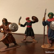 Figuras de Goma y PVC: JECSAN MOROS GUARDIA NEGRA DE BEN YUSSUF.. Lote 168123604