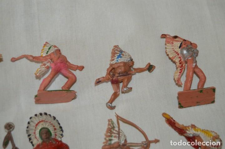 Figuras de Goma y PVC: OESTE AMERICANO - INDIOS, VAQUEROS - Plástico/PVC - COMANSI, OLIVER, PUIG, PECH, JECSAN ... ¡Mira! - Foto 3 - 168151673