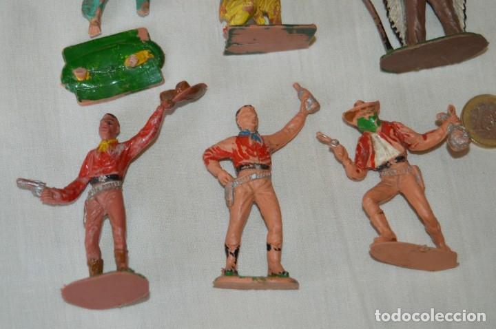 Figuras de Goma y PVC: OESTE AMERICANO - INDIOS, VAQUEROS - Plástico/PVC - COMANSI, OLIVER, PUIG, PECH, JECSAN ... ¡Mira! - Foto 5 - 168151673