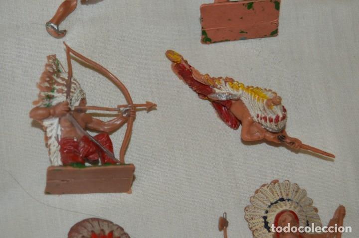 Figuras de Goma y PVC: OESTE AMERICANO - INDIOS, VAQUEROS - Plástico/PVC - COMANSI, OLIVER, PUIG, PECH, JECSAN ... ¡Mira! - Foto 7 - 168151673