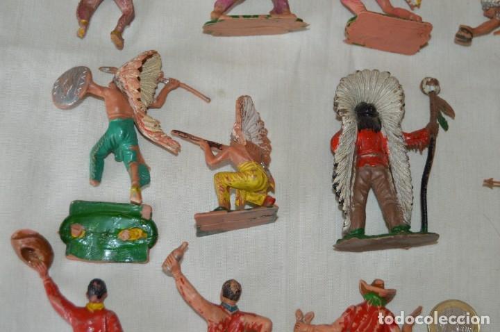 Figuras de Goma y PVC: OESTE AMERICANO - INDIOS, VAQUEROS - Plástico/PVC - COMANSI, OLIVER, PUIG, PECH, JECSAN ... ¡Mira! - Foto 10 - 168151673
