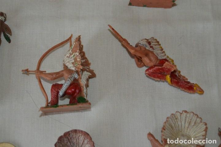 Figuras de Goma y PVC: OESTE AMERICANO - INDIOS, VAQUEROS - Plástico/PVC - COMANSI, OLIVER, PUIG, PECH, JECSAN ... ¡Mira! - Foto 13 - 168151673