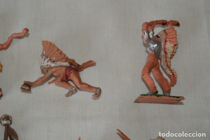 Figuras de Goma y PVC: OESTE AMERICANO - INDIOS, VAQUEROS - Plástico/PVC - COMANSI, OLIVER, PUIG, PECH, JECSAN ... ¡Mira! - Foto 12 - 168151673