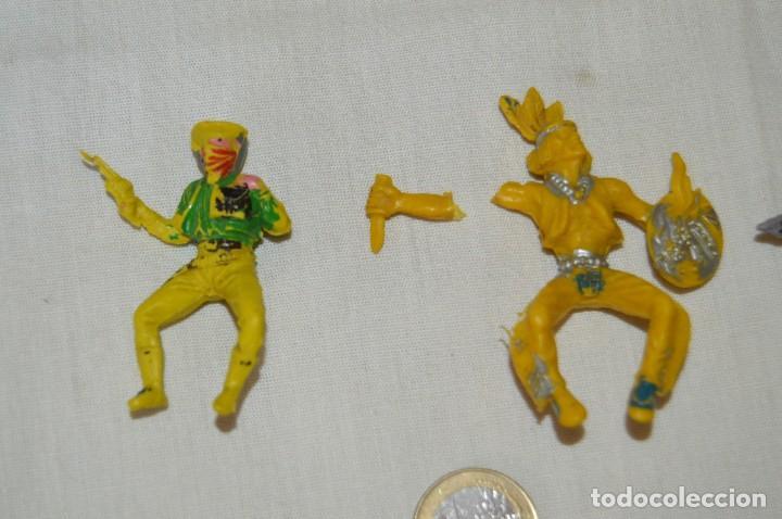 Figuras de Goma y PVC: Lote de OESTE - INDIOS, VAQUEROS y CABALLOS, Plástico/PVC - COMANSI, OLIVER, PUIG, PECH, JECSAN ... - Foto 2 - 168160188