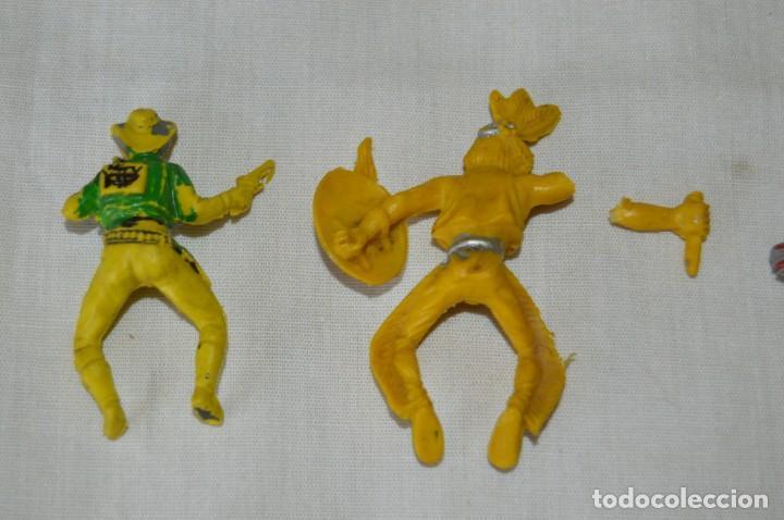 Figuras de Goma y PVC: Lote de OESTE - INDIOS, VAQUEROS y CABALLOS, Plástico/PVC - COMANSI, OLIVER, PUIG, PECH, JECSAN ... - Foto 6 - 168160188