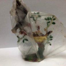 Figuras de Goma y PVC: FIGURA AGUILA ARBOL CON NIDO DE PECH CON SU BOLSA ORIGINAL NUNCA JUGADO. Lote 168170152