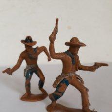 Figuras de Goma y PVC: FIGURAS VAQUEROS PLASTICO REAMSA,JECSAN,PECH. Lote 168191088
