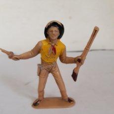 Figuras de Goma y PVC: FIGURA VAQUERO PLASTICO PECH,JECSA,REAMSA. Lote 168198185