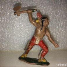 Figuras de Goma y PVC: LAFREDO - FIGURA INDIO - GOMA. Lote 168214052
