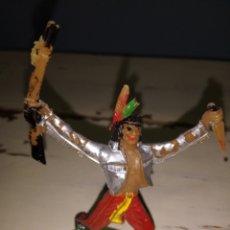 Figuras de Goma y PVC: INDIO COMANSI. Lote 168246870