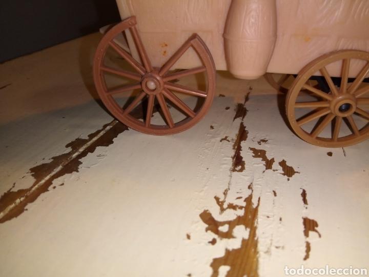 Figuras de Goma y PVC: Fuerte (fort apache), vaqueros a pie y a caballo ¿comansi?(años 70) - Foto 11 - 168286488