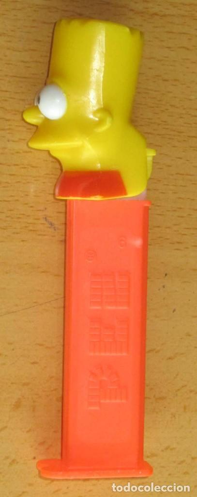 Dispensador Pez: PEZ 7 DISPENSADORES, DARTH VADER, R2-D2, 2 SOLDADOS MIKEY, SILVESTRE,BART SIMPSON - Foto 6 - 168340052