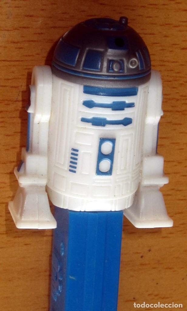 Dispensador Pez: PEZ 7 DISPENSADORES, DARTH VADER, R2-D2, 2 SOLDADOS MIKEY, SILVESTRE,BART SIMPSON - Foto 19 - 168340052