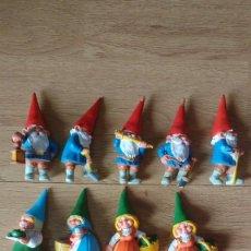 Figuras de Goma y PVC: LOTE FIGURAS PVC GNOMOS. Lote 168356828