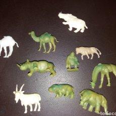 Figuras de Goma y PVC: ANIMALES MONTAPLEX,DUNKIN.. Lote 190383170