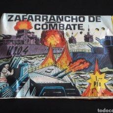 Rubber and PVC Figures - Zafarrancho de combate, sobre *pequeño* Montaplex Monta-Plex o similar, nunca abierto, años 60. - 168392828