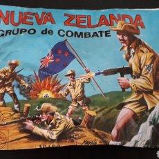 Figuras de Goma y PVC: NUEVA ZELANDA REF. 160, SOBRE MONTAPLEX MONTA-PLEX, GRUPO DE COMBATE, AÑOS 70-80.. Lote 168403348