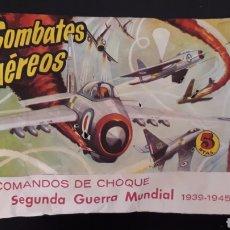 Figuras de Goma y PVC: COMBATES AÉREOS, SOBRE MONTAPLEX MONTA-PLEX, II 2ª GUERRA MUNDIAL, AÑOS 60-70.. Lote 168403484