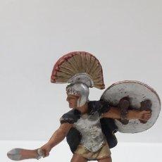 Figuras de Goma y PVC: GUERRERO TROYANO . POSIBLEMENTE REALIZADO POR BRITAINS . MADE IN ENGLAND . AÑOS 60. Lote 168405732
