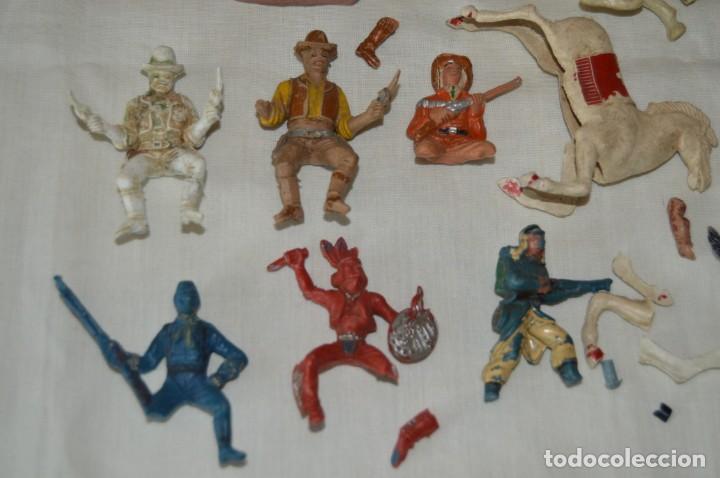 Figuras de Goma y PVC: Figuras variadas PLÁSTICO/PVC - COMANSI, OLIVER, PUIG, PECH, JECSAN... Años 50/60 ¡Mira fotos/detall - Foto 6 - 168444676