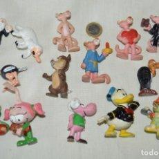 Figuras de Goma y PVC: VINTAGE - LOTE DE 14 FIGURAS VARIADAS DE GOMA - BULLY / COMIC SPAIN / SCHLEICH Y OTROS ... ¡MIRA!. Lote 168446768