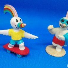 Figuras de Goma y PVC: FIGURAS PVC CURRO MASCOTA EXPO SEVILLA 92 PROMOCIONAL. Lote 168563217