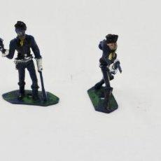 Figuras de Goma y PVC: 4 SOLDADOS GOMA JECSAN - 50 MM. Lote 168592016