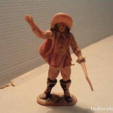 Figuras de Goma y PVC: FIGURA DE PLÁSTICO MOSQUETERO JECSAN. Lote 168604180