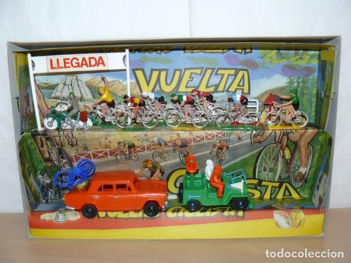Figuras de Goma y PVC: Caja Vuelta Ciclista Mariano Sotorres FIRMADA por Roberto HERAS y Manolo SAIZ en el 2006 Tour Giro - Foto 5 - 168609500