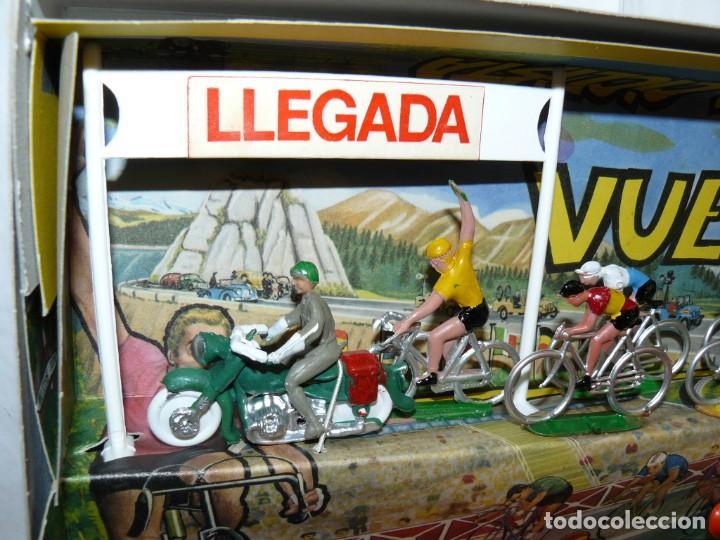 Figuras de Goma y PVC: Caja Vuelta Ciclista Mariano Sotorres FIRMADA por Roberto HERAS y Manolo SAIZ en el 2006 Tour Giro - Foto 6 - 168609500